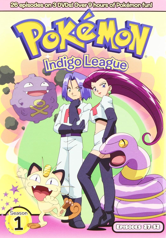 amazon com pokémon indigo league season 1 episodes 27 53