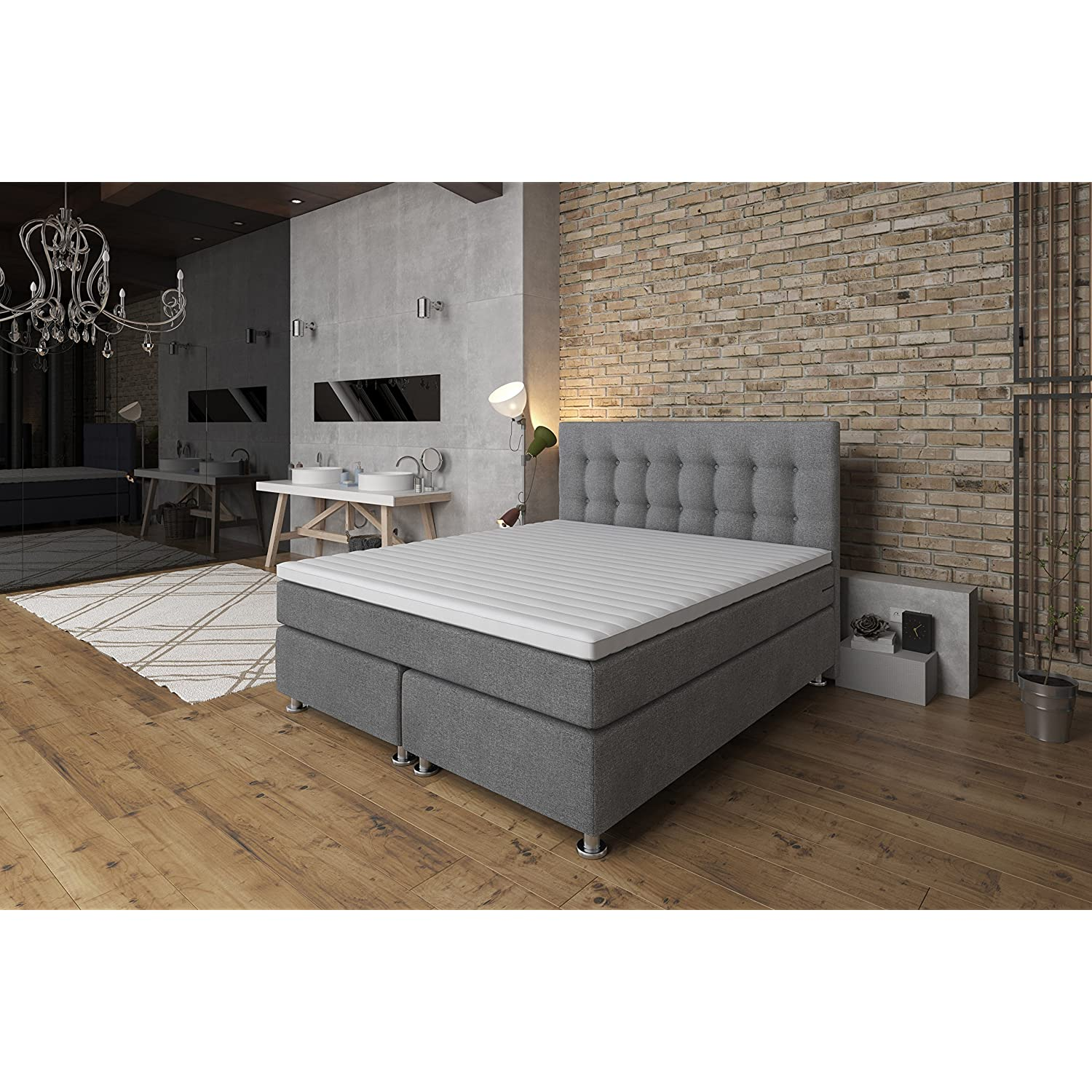 boxspringbett test die besten modelle f r 2018 im vergleich. Black Bedroom Furniture Sets. Home Design Ideas