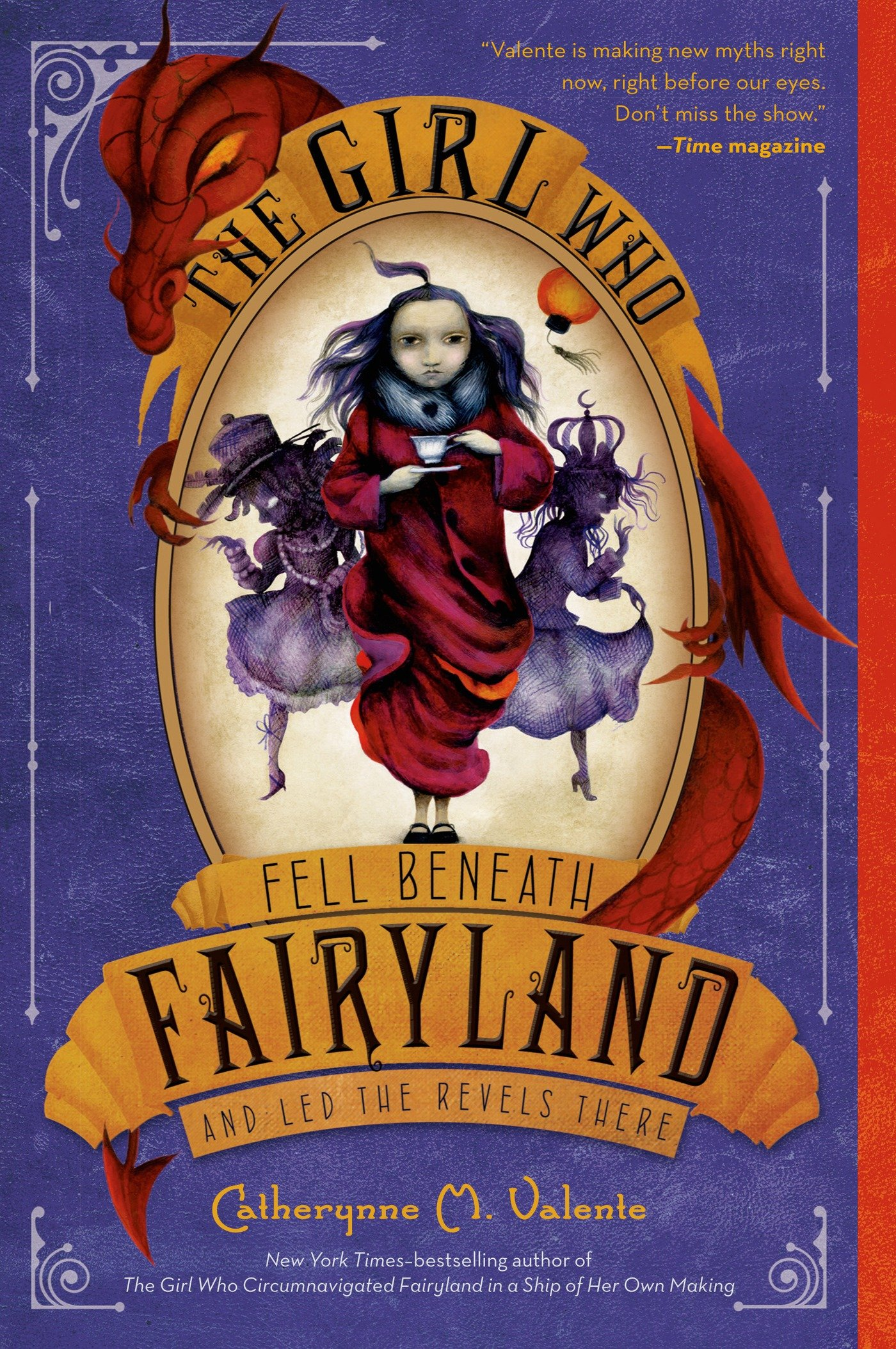 Image result for The Girl Who Fell Beneath Fairyland and Led the Revels There by Catherynne M Valente