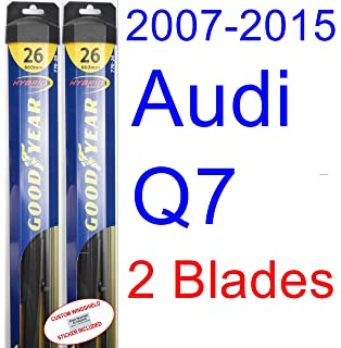 2007-2015 Audi Q7 Replacement Wiper Blade Set/Kit (Set of 2 Blades