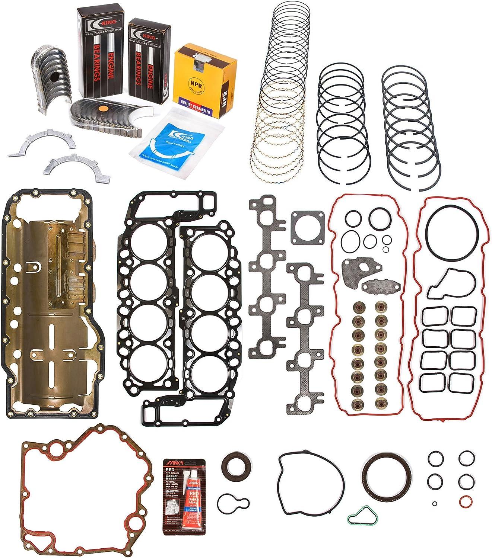 Engine Re-Ring Kit Fit 99-03 Dodge Dakota Durango Jeep 4.7