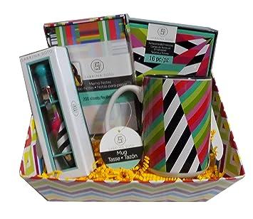 Sabrina Soto Home Design Gift Basket   Mug, Memo Notes, Notecards, And Pen