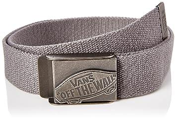 4565ca72984dc2 vans Men s s Conductor Web Belt Grey (Heather Suiting Kh7) 115 (size ...