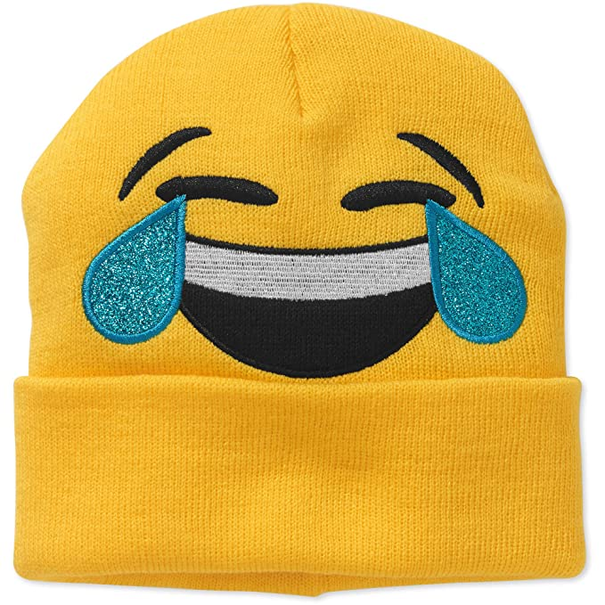 Amazon.com: LOL Laughing out loud Joy Emoji Beanie: Clothing