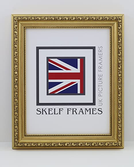 GOLD ORNATE PICTURE PHOTO POSTER FRAME (13 x 11): Amazon.co.uk ...