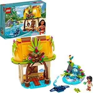 LEGO Disney Moana's Island Home  43183 Toy Building Kit