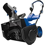 Snow Joe iON21SB-PRO 21-Inch Cordless Single Stage Snow Blower w/Rechargeable 40-V 5.0 Ah Lithium-Ion Battery