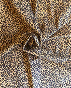 Genuine Leather Hide - Suede Leopard Print - Brown Color - 13 sq ft - 45¨ x 35¨ - 1 oz. avg - Large Hides - Craft Projects - Upholstery Home Decór Material - DIY Supply - Leather Treasure Shop