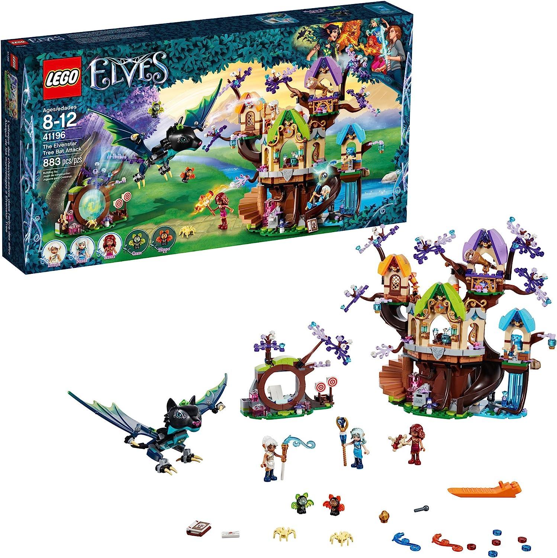 LEGO Elves The Elvenstar Tree Bat Attack 41196 Building Kit (883 Piece)