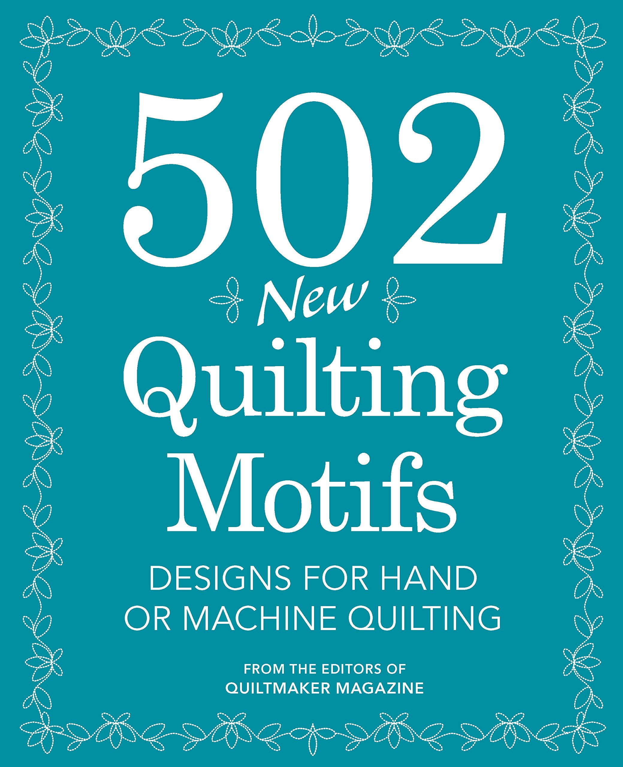 502 New Quilting Motifs Designs product image