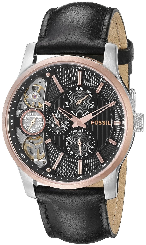 Zegarek Damski Fossil Tailor Es4021set Zegarki Es3954 Multifunction Light Brown Leather Watch Amazoncom Mens Me1099 Black Strap Textured 915ol11xc3l B003v4fw2i