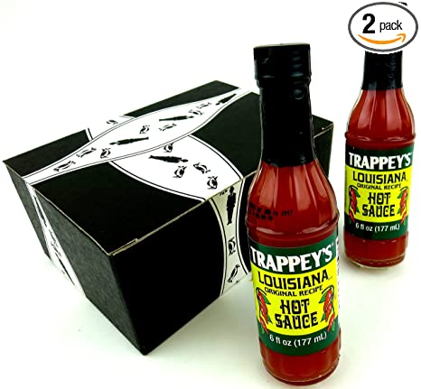 Trappey S Louisiana Original Recipe Hot Sauce 6 Oz Bottles In A Gift Box Pack Of 2