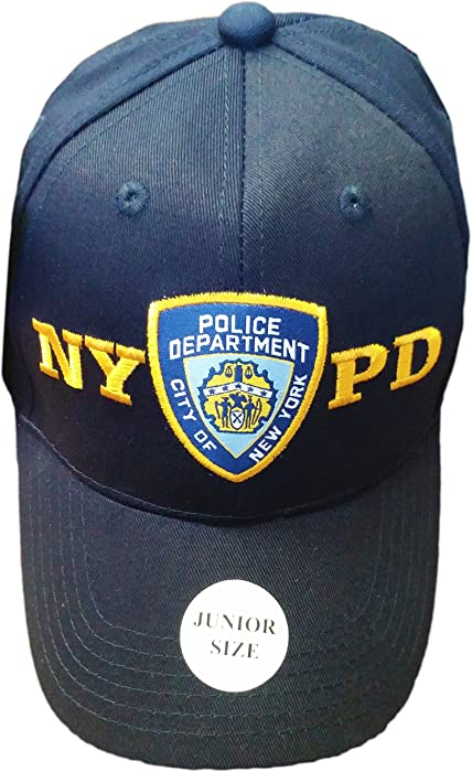 93486df7084 NYC FACTORY NYPD Junior Kids Baseball Hat Police Department of New York Navy  Blue Boys