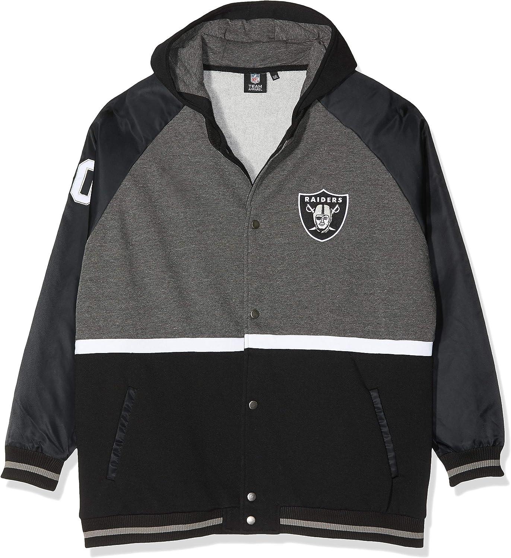 NFL Oakland Raiders Mens Hoodie Hooded Top Jacket