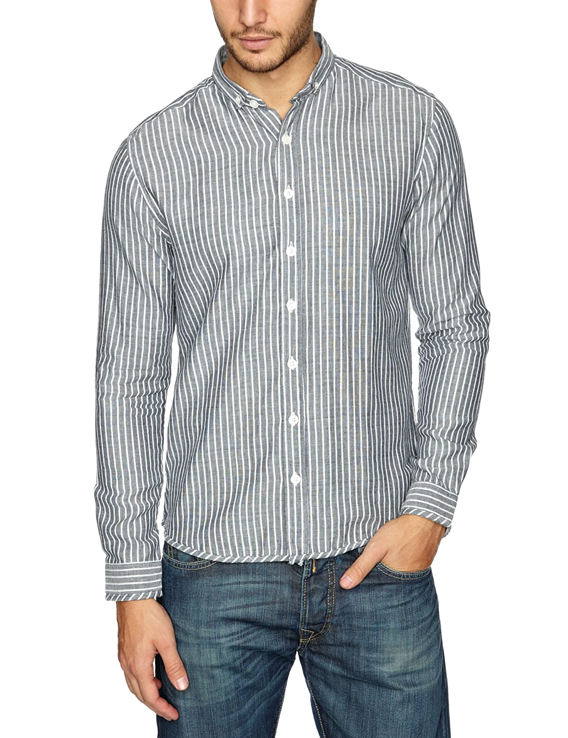 NUNC Herren Shirt , Button-down