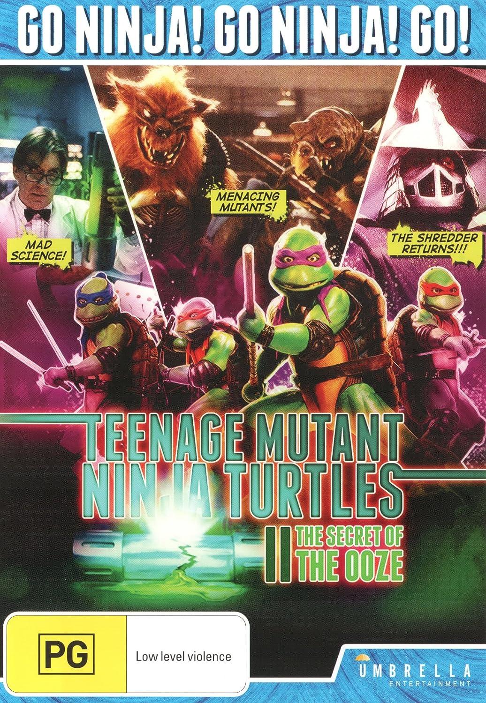 Amazon.com: Teenage Mutant Ninja Turtles 2 Secret Of The ...