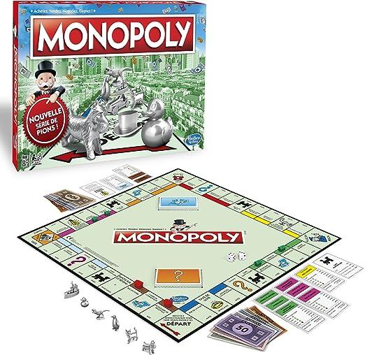 Monopoly Clásico - Juego de Mesa (versión Francesa): Amazon.es: Juguetes y juegos