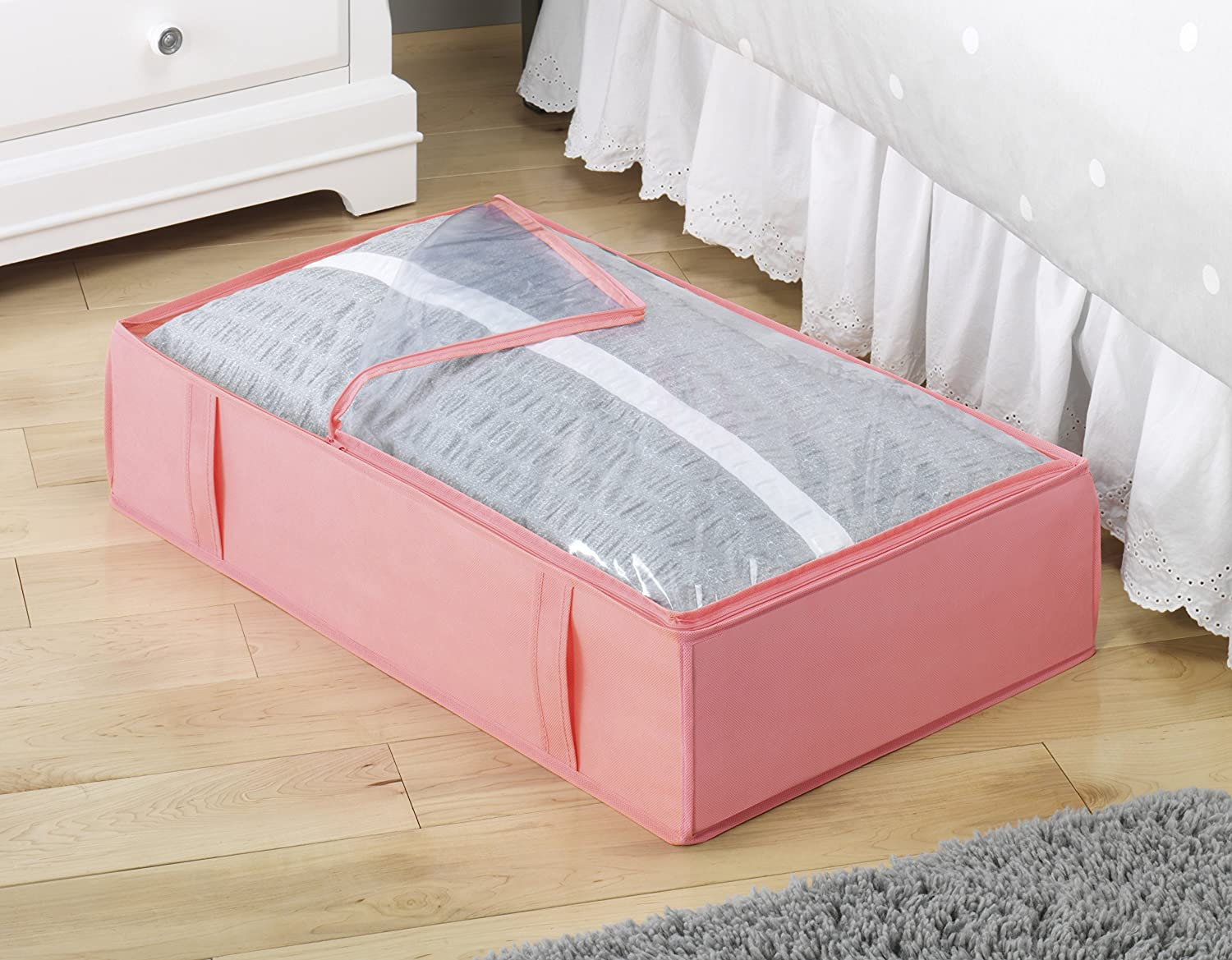 Whitmor Under Bed Storage Bag-Grey 6536-130-GREY