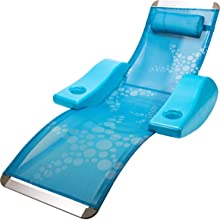 SwimWays Elluna Pool Lounge, Blue, OS