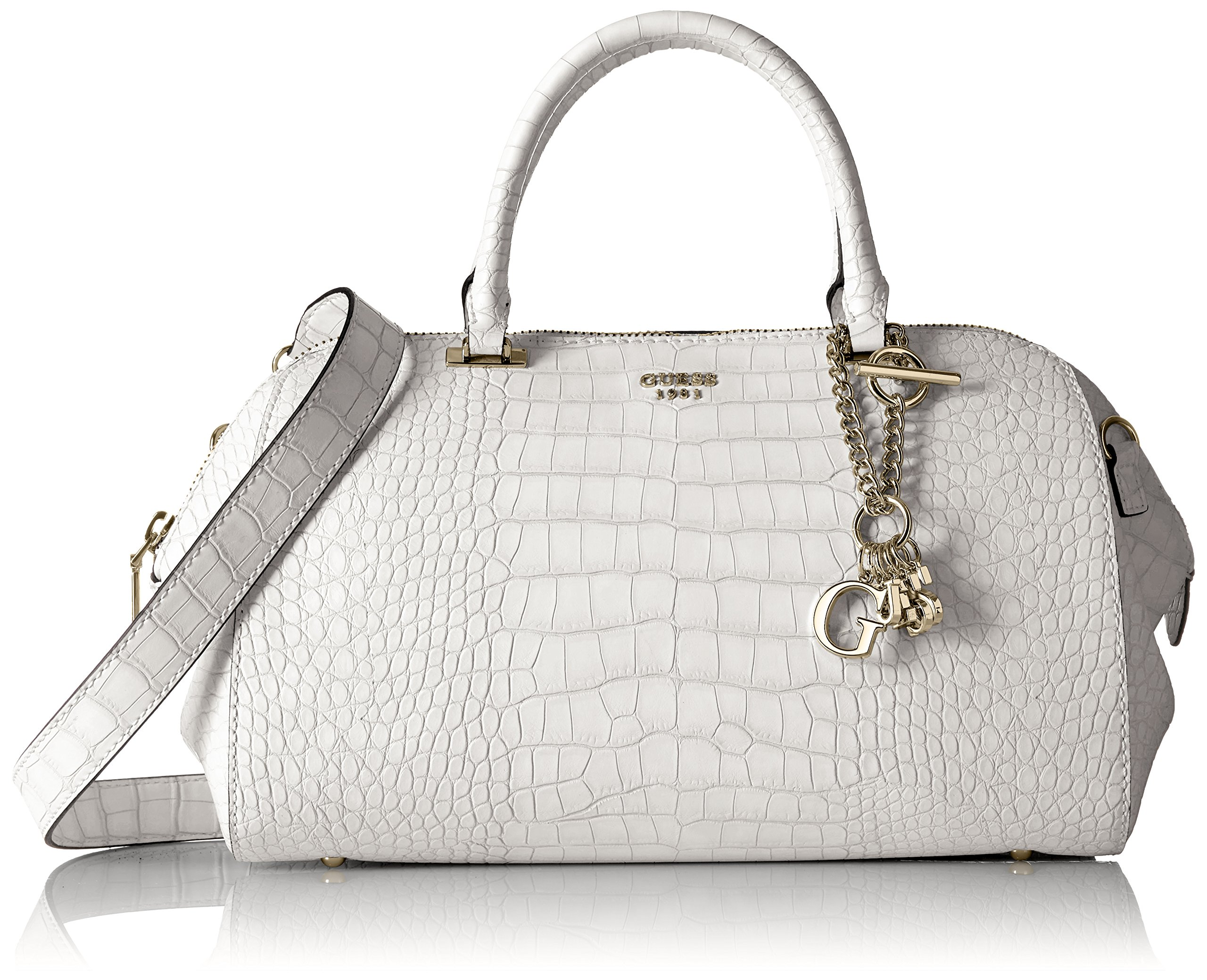 GUESS Trylee Satchel, Stone by GUESS