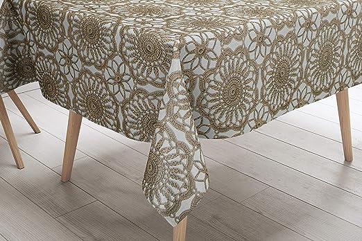 Savastextile - Manteles rectangulares para Mesa (100% algodón ...