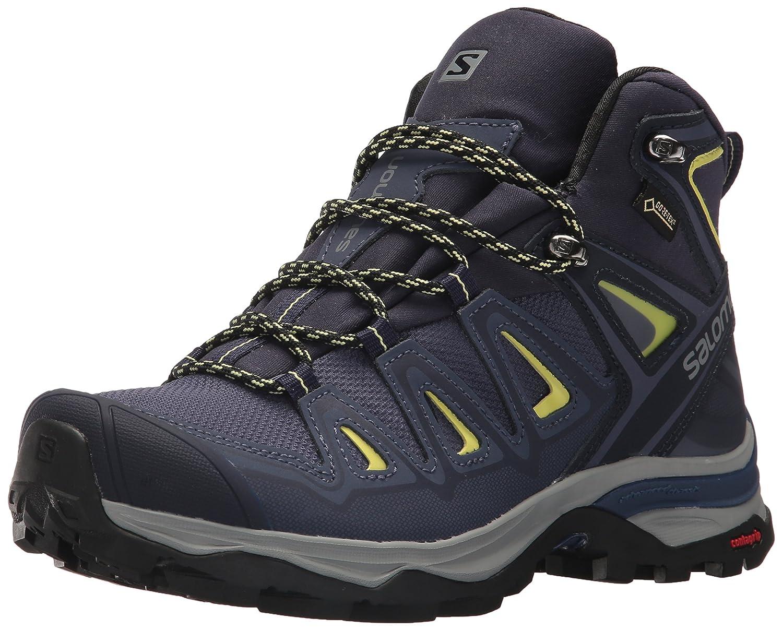 Salomon Women's X Ultra 3 Mid GTX W Hiking Boot B073JY8MWC 5 M US|Crown Blue