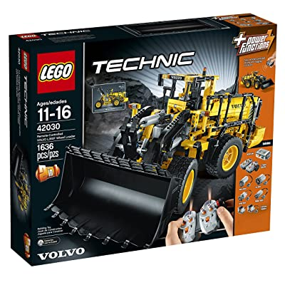 LEGO Technic 42030 Remote Controlled Volvo L350F Wheel Load: Toys & Games