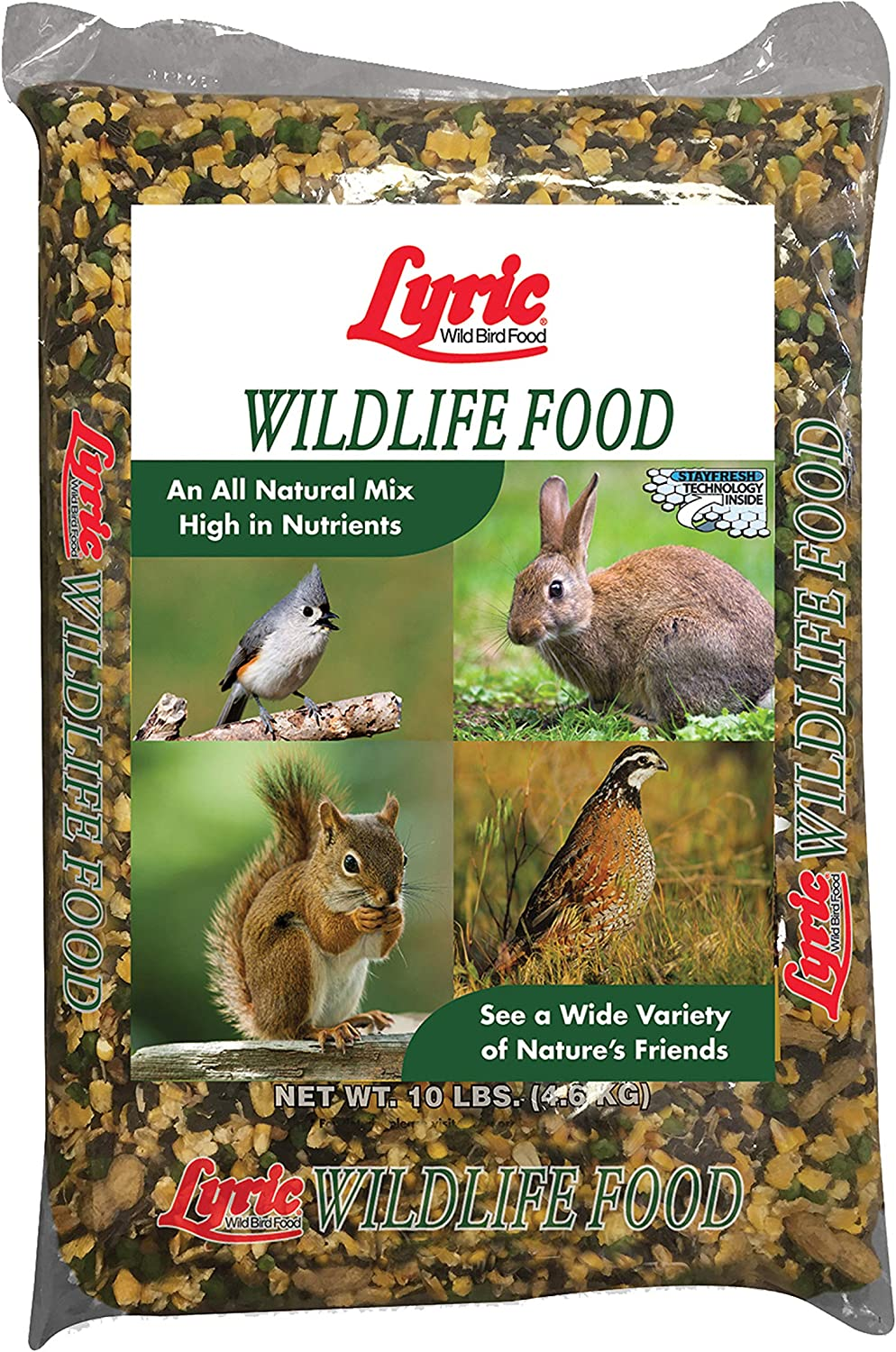 Lyric 2647447 Wildlife Food - 10 lb.
