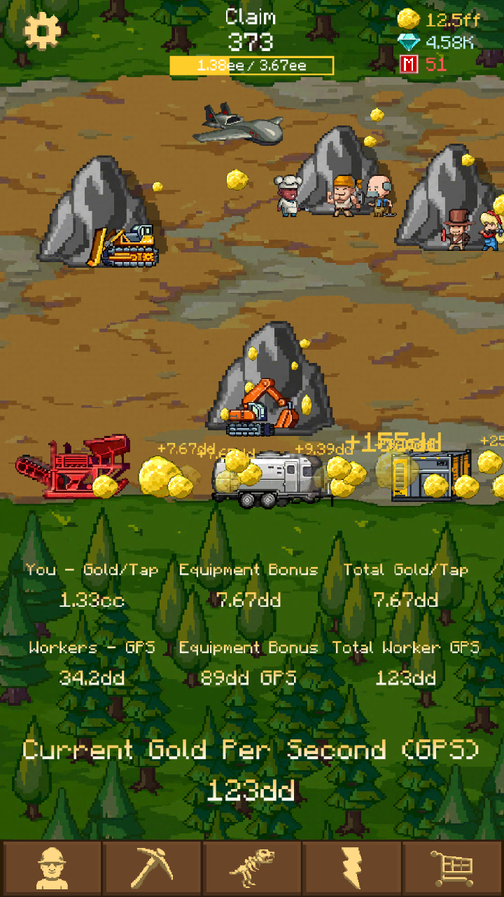 Goldcraft - Idle Gold Mining: Amazon.es: Appstore para Android