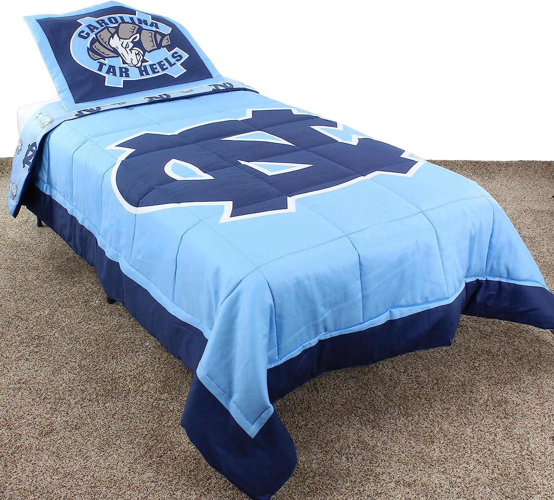 College Covers International North Carolina Tar Heels Reversible Comforter Set - Queen