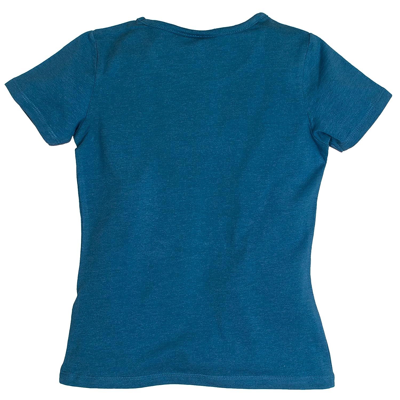 Salt /& Pepper Girls T-Shirt Horses Photoprint