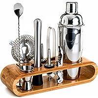 Mixology Bartender Kit: 10-Piece Bar Tool Set w/Bamboo Stand Deals