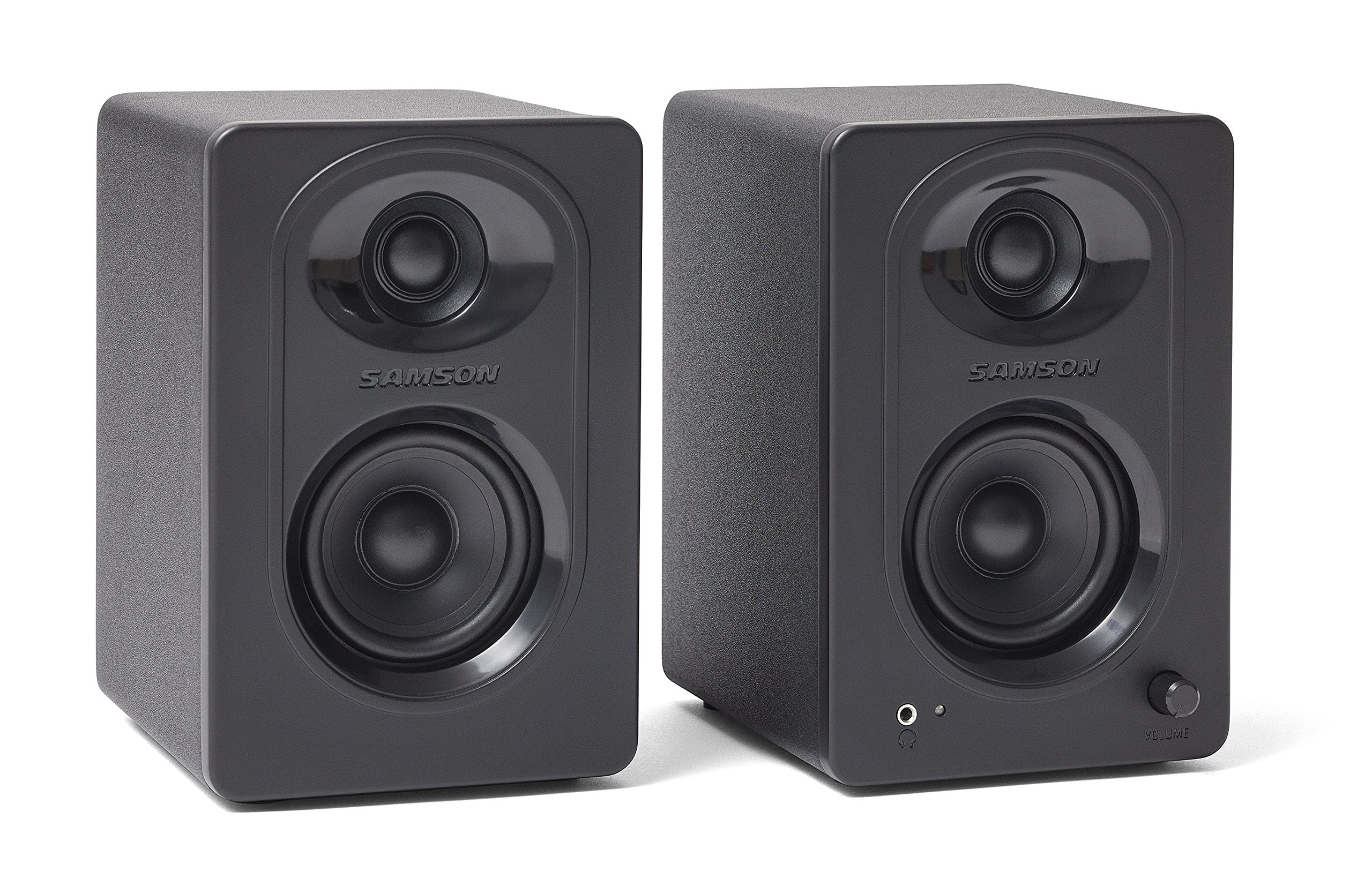 Samson MediaOne M30 3'' Powered Studio Monitors (Pair) by Samson Technologies