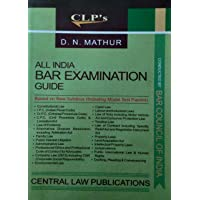 AIBE (All India Bar Examination Guide) - Based on New Syllabus (Including Model Test Papers and also useful for Judicial and Other Law Competitive Examinations