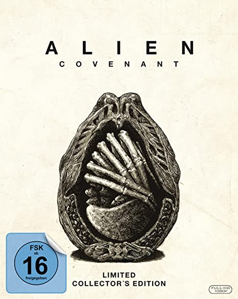 Alien: Covenant - Limited Mediabook [Blu-ray] [Limited Edition]