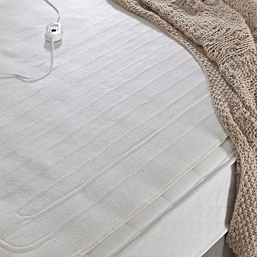 Silentnight Manta eléctrica Comfort Control, Blanco, suelto: Amazon.es: Hogar