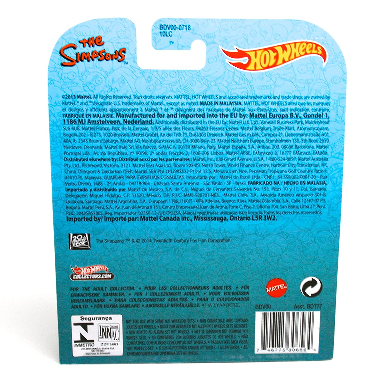 The Simpsons Hot Wheels 2013 Retro Entertainment Series Die Cast Vehicle Mattel SG/_B00VYQSA2E/_US The Homer