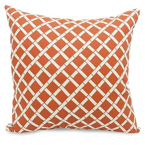 Amazon.com: Majestic Home Goods Naranja almohada de bambú ...