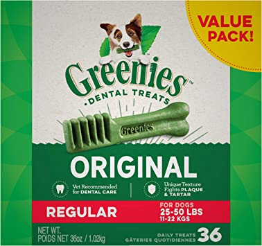 Greenies Original Teenie Natural Dental Treats