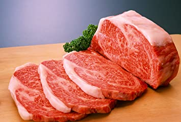 100% A5 Grade Japanese Wagyu Kobe Beef, Ribeye Steaks, 1 5 Pound (24 Ounce)