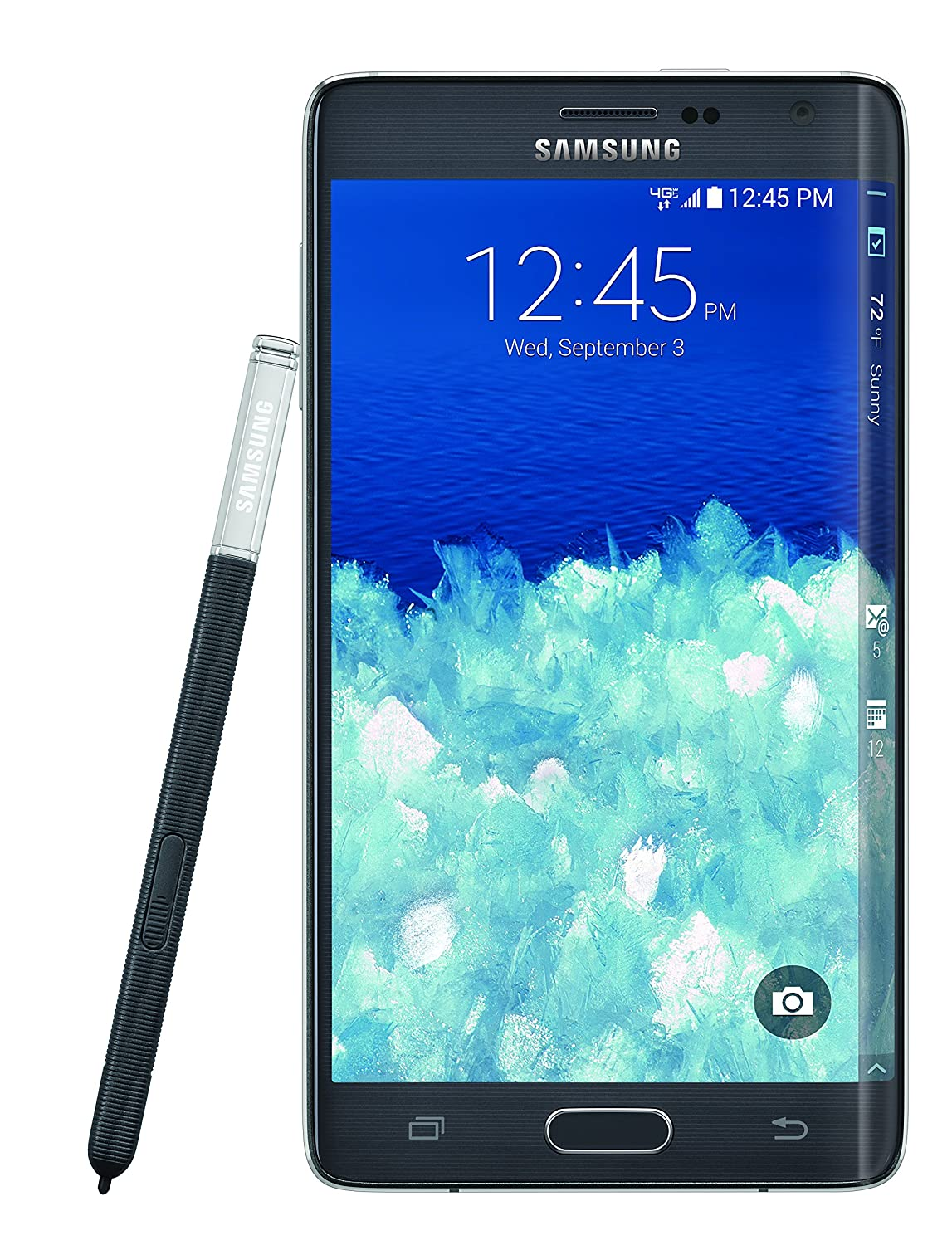 Amazon.com: Samsung Galaxy Note Edge, Charcoal Black 32GB: Cell Phones &  Accessories