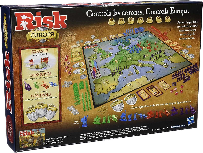 Games - Risk Europa (Hasbro B7409105): Amazon.es: Juguetes y juegos