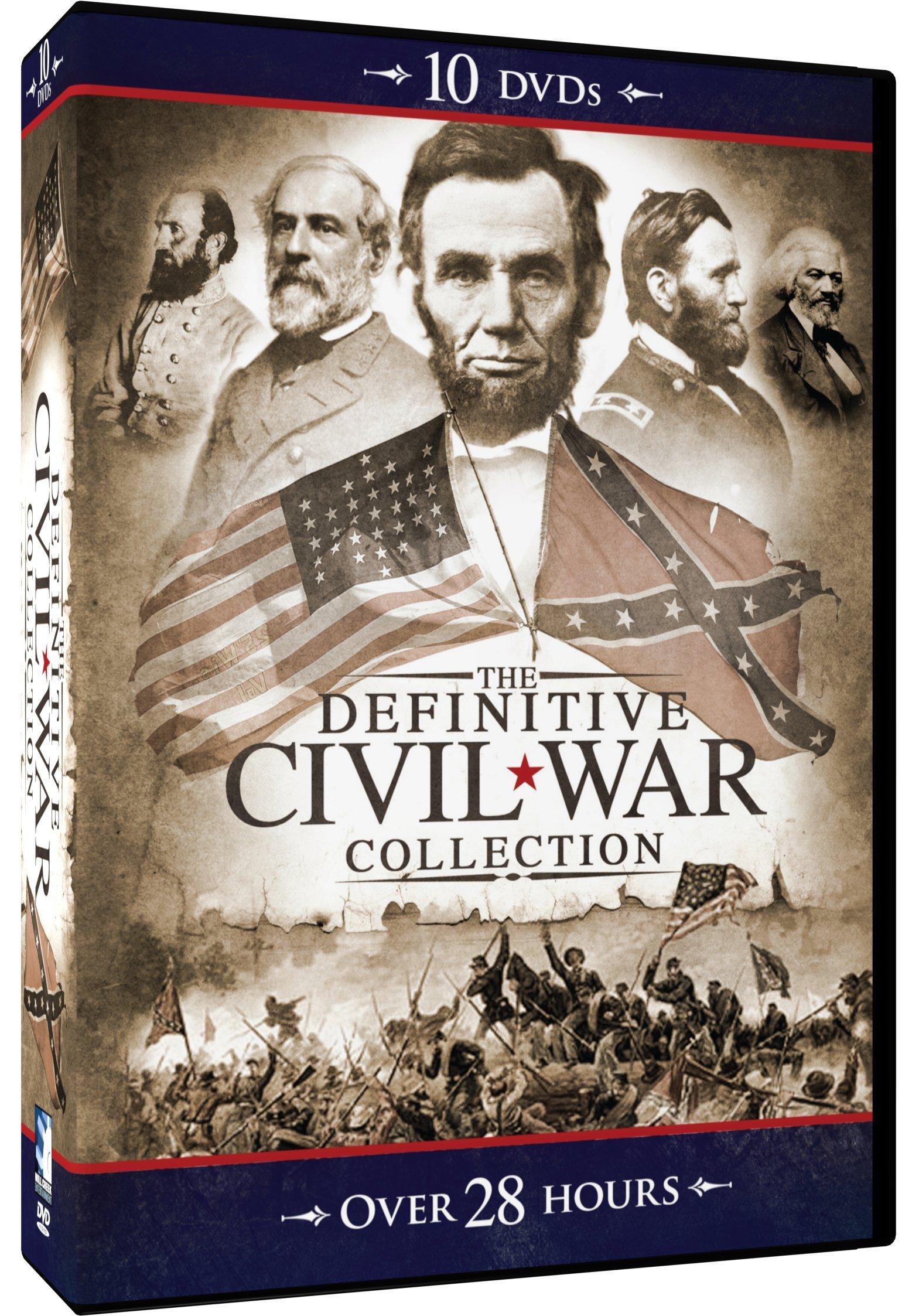 Definitive Civil War Collection - 10 DVD MegaCollection