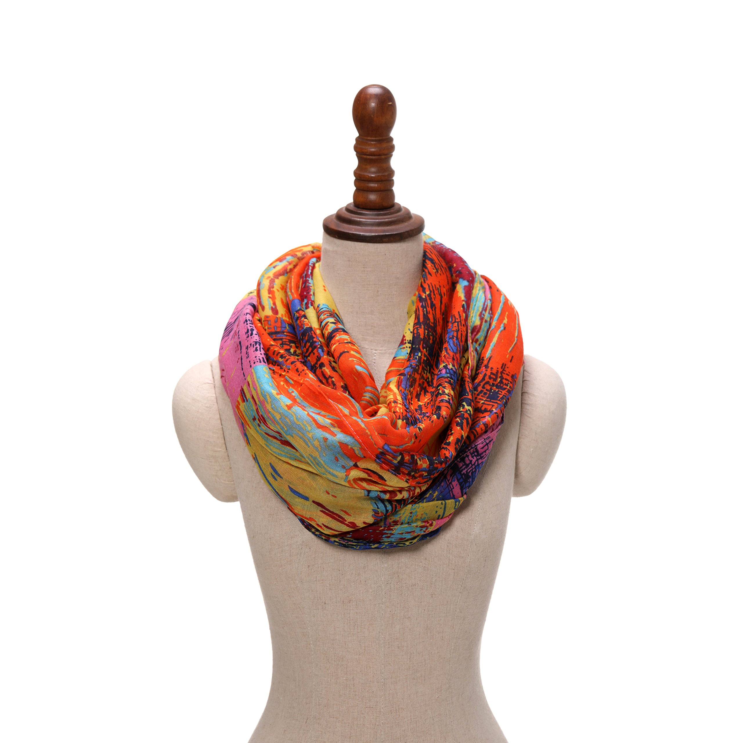 Gift for Women Scarfs for Women Infinity Scarf Lightweight Ladies Scarves Summer The Twins Dream