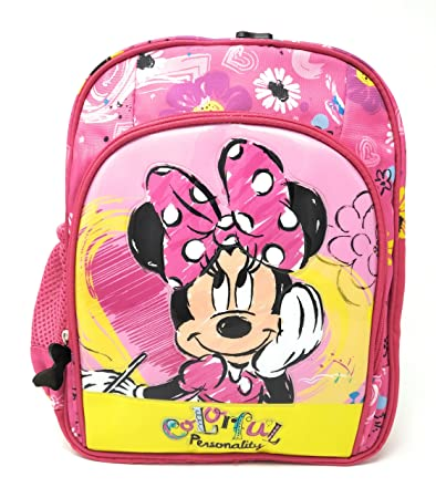 HM Disney Kid s Polyester Minnie Mouse Backpack  Amazon.in  Bags ... 8cb25b2937