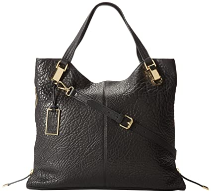 d4dbd6870d Amazon.com: Vince Camuto Riley Tote, Black/Running, One Size: Clothing