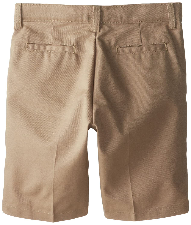 Dickies Girl Big Girls Flex Waist Slim Fit Flat Front Short