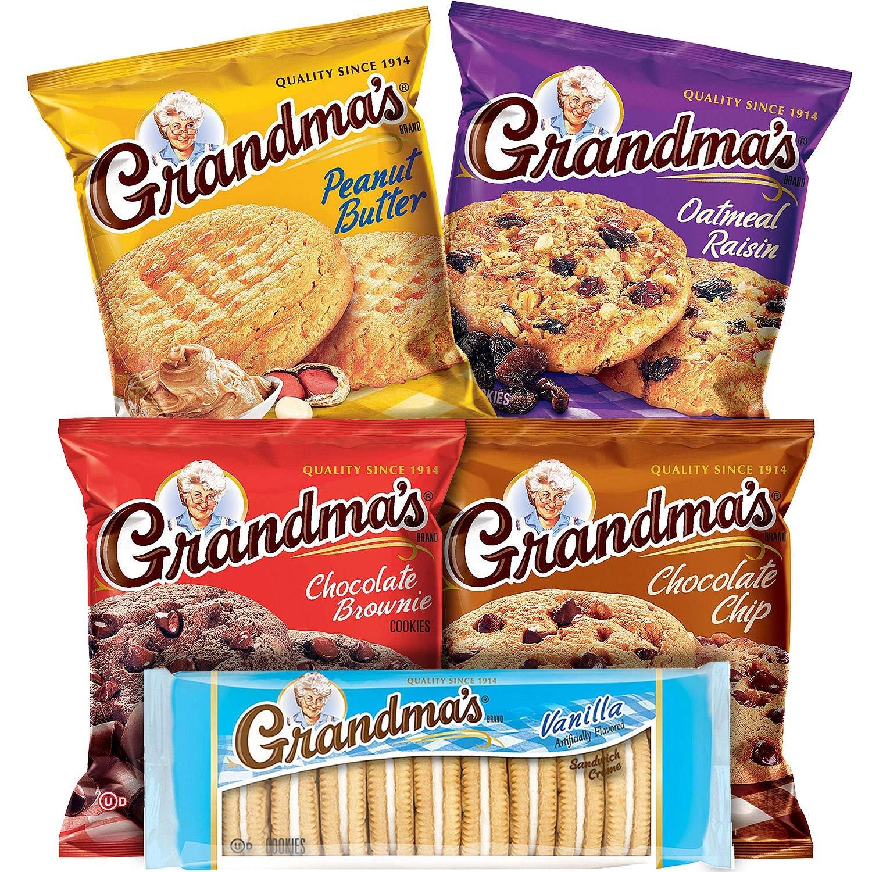 Grandma's Cookies Variety Pack (36 ct.) by Grandma's
