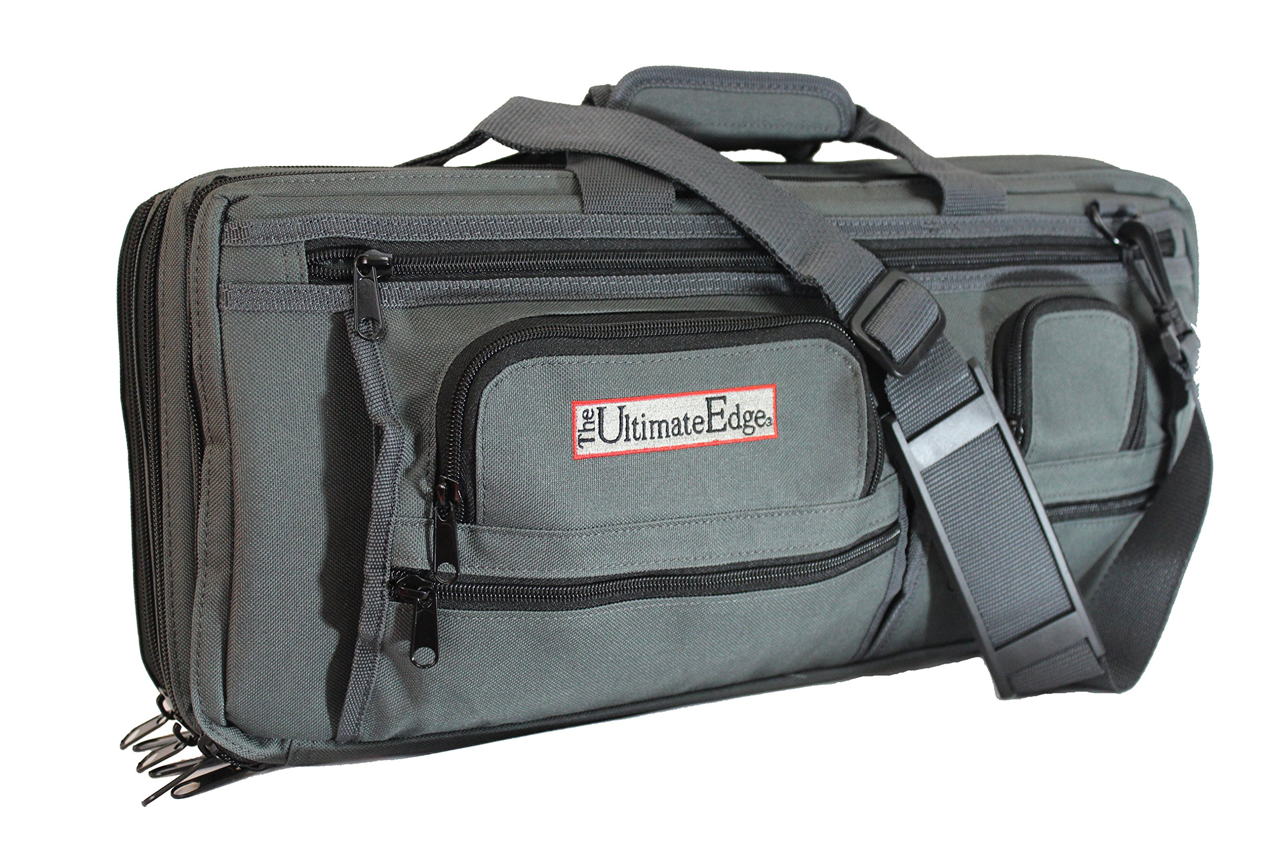 The Ultimate Edge 2001-EDGT Deluxe Chef Knife Case, Graphite by The Ultimate Edge (Image #1)