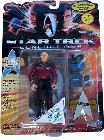 Star Trek Generations Captain Jean-Luc Picard Action Figure SG/_B000BKUSQK/_US